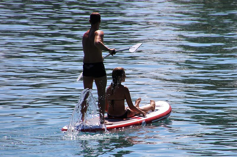SUP Board - Stand up Paddle Koberbachtalsperre